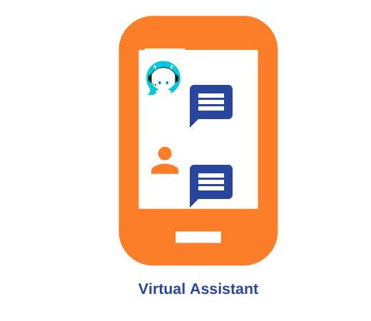 Virtual assistants built using NLP